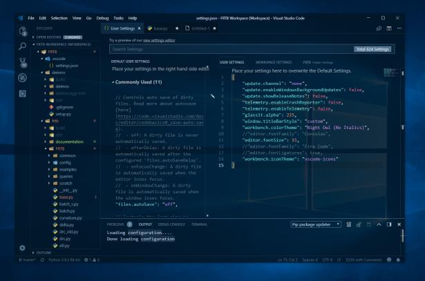 Dark Transparent Visual Studio 3
